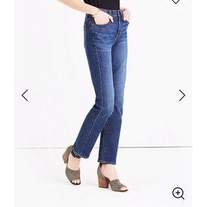 Madewell Cruiser Straight Leg Jean 30